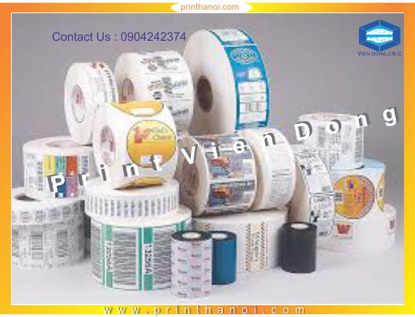 Label Printing Services | Print Product Labels in Hanoi | Print Ha Noi