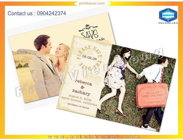 Print Invitaions in HaNoi | Premium Business Cards | Print Ha Noi