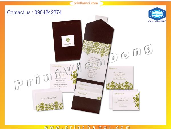 Print wedding invitations in ha noi | Print sacks  | Print Ha Noi