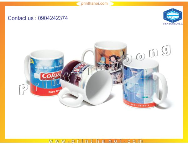 Print photo on a cup in hanoi | Premium Business Cards  | Print Ha Noi