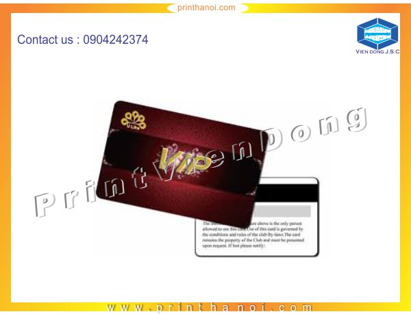 Immediately printing plastic cards | Business Card Holder In Hanoi | Print Ha Noi