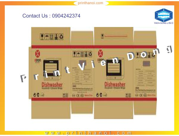 Print carton box in Hanoi | Free Business Cards | Print Ha Noi