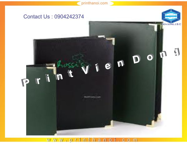 Print leather cover books in Hanoi | Proceedings Printing in Hanoi | Print Ha Noi