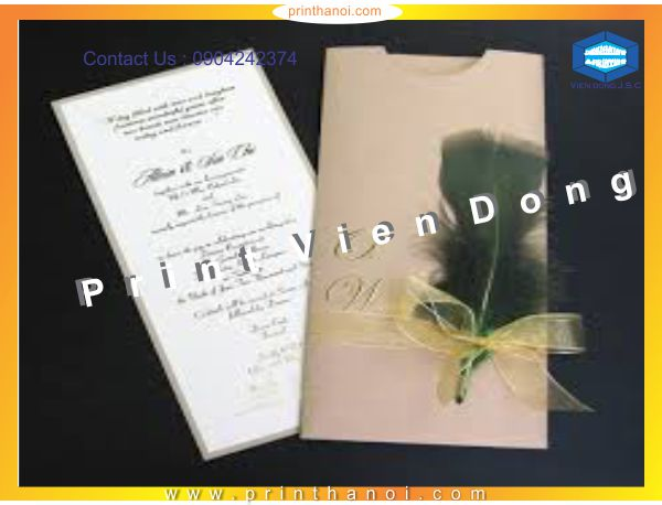 Print wedding card | Print On All Materials | Print Ha Noi