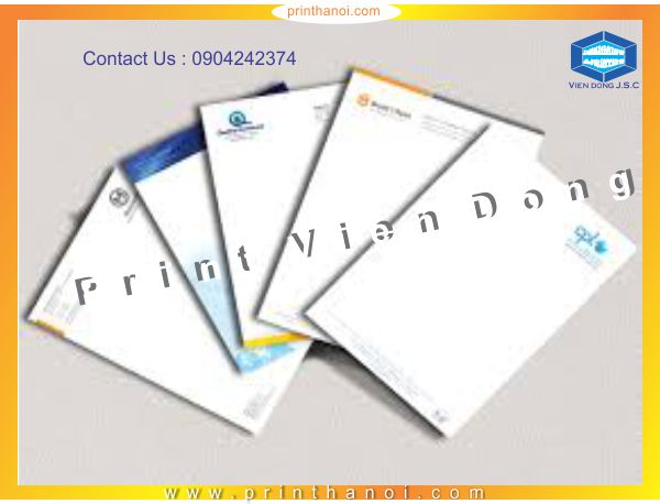 Print letter head  | Print On All Materials | Print Ha Noi