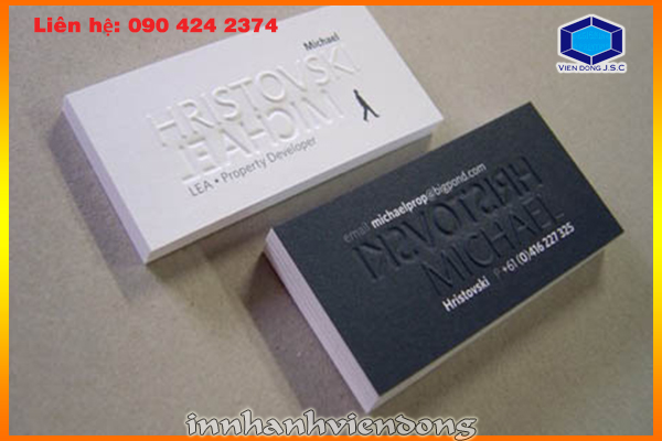 Print Premium Business Cards at HaNoi | Print sacks  | Print Ha Noi