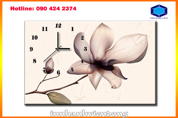 Print art picture clock  | Print digital photos | Print Ha Noi