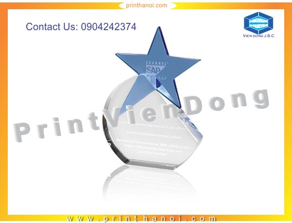 Print crystal gift | Personal Business Cards | Print Ha Noi
