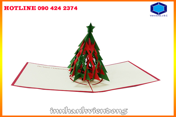 3D printing Christmas cards pretty cheap in Hanoi | Proceedings Printing in Hanoi | Print Ha Noi