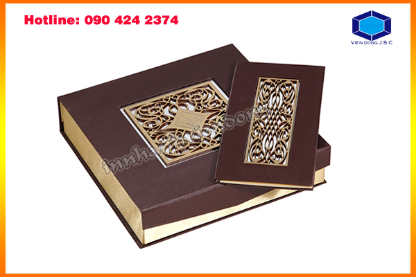 Make laser-cut boxes in Ha Noi | Business Card Holder In Hanoi | Print Ha Noi