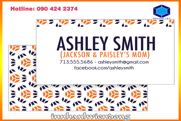 Print mommy card | Print flyer in Ha Noi | Print Ha Noi
