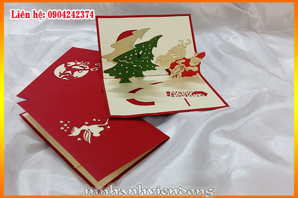 Print merry Christmas cards | New models gift box in Ha Noi | Print Ha Noi