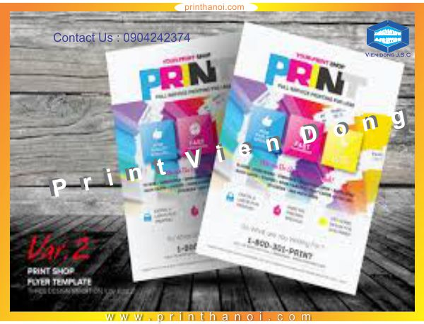 Printing flyer hanoi | Print networking card in Hanoi | Print Ha Noi