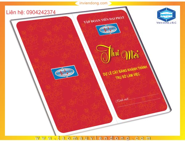 Cheap invitations printing in Ha Noi | Double-sided Flyers in Ha Noi | Print Ha Noi