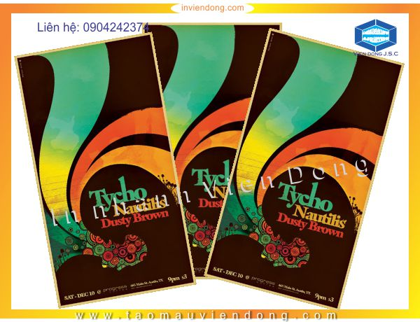 Cheap Poster printing | Double-sided Flyers in Ha Noi | Print Ha Noi