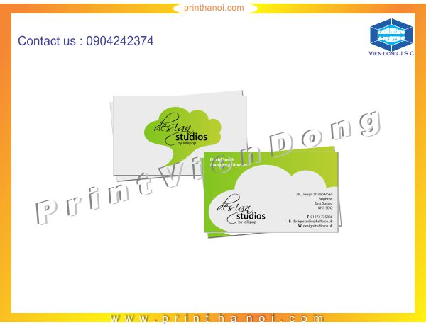 Premium Business Card Printing in Ha Noi | Premium Business Cards  | Print Ha Noi
