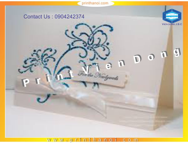 Beautiful Wedding Card Printting |  Cheap Graduation Annoucement Printing | Print Ha Noi