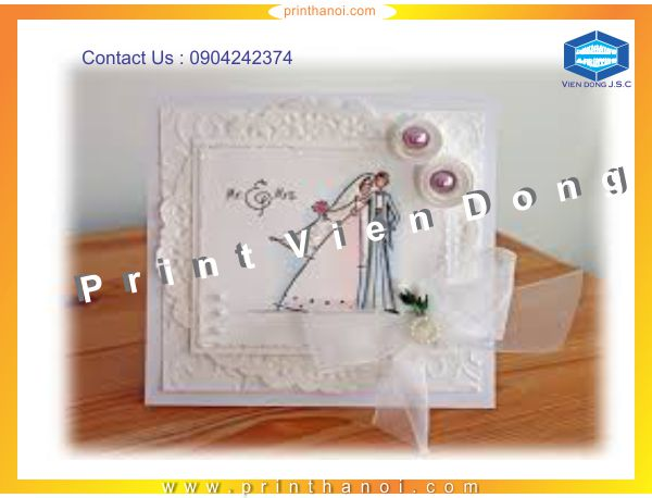 Wedding Invitation Printing | Premium Business Cards  | Print Ha Noi