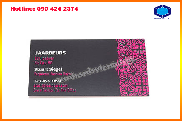 Luxe Business Cards in Ha Noi | Print networking card in Hanoi | Print Ha Noi