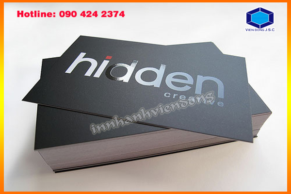 Fat business cards with cheap price in Ha Noi | New models gift box in Ha Noi | Print Ha Noi