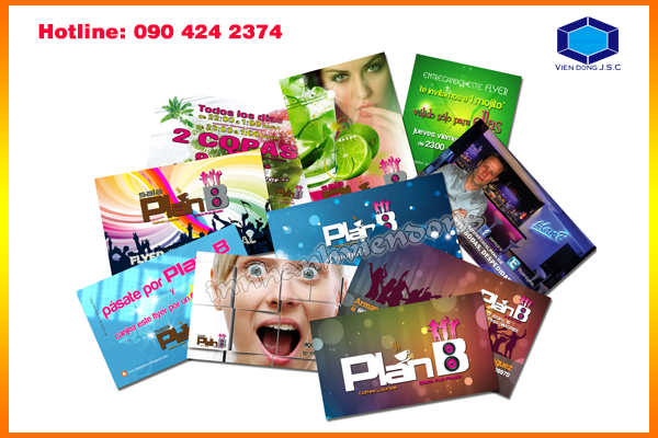 Double-sided Flyers in Ha Noi | Business Card Holder In Hanoi | Print Ha Noi
