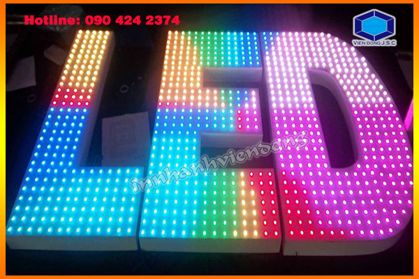 Cheap matrix LED light full colours in Ha Noi | Print Ha Noi