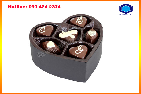 Beautiful Chocolate Box in Ha Noi | Print networking card in Hanoi | Print Ha Noi