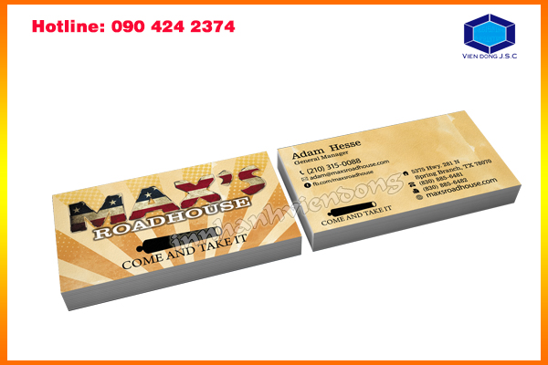 Business card stickers in ha noi business card stickers for Business cards stickers