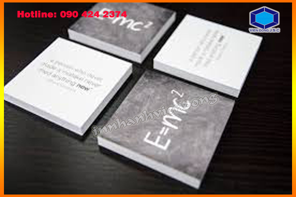 Square Business Cards in Ha Noi