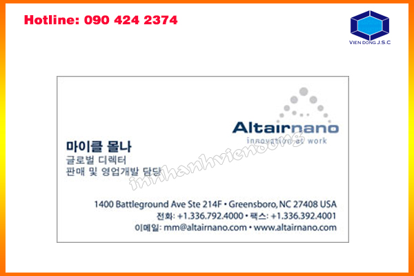 address fast print in ha noi