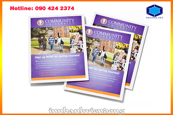 Fast print flyers hanoi fast print flyers hanoi for Fedex brochure template